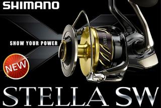 harga dan spesifikasi reel shimano stella