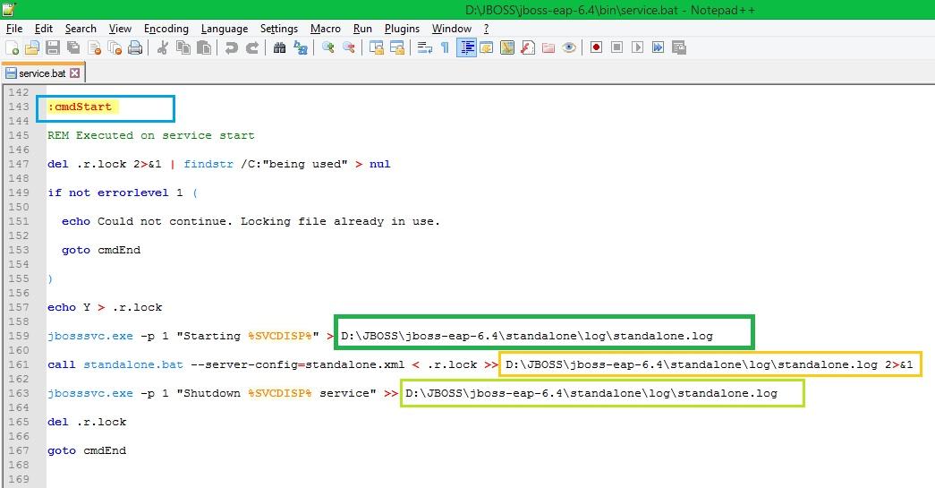 MiddlewareBox: How to create WINDOWS service for a JBOSS EAP
