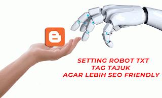 cara setting robot txt dan tag tajuk robot