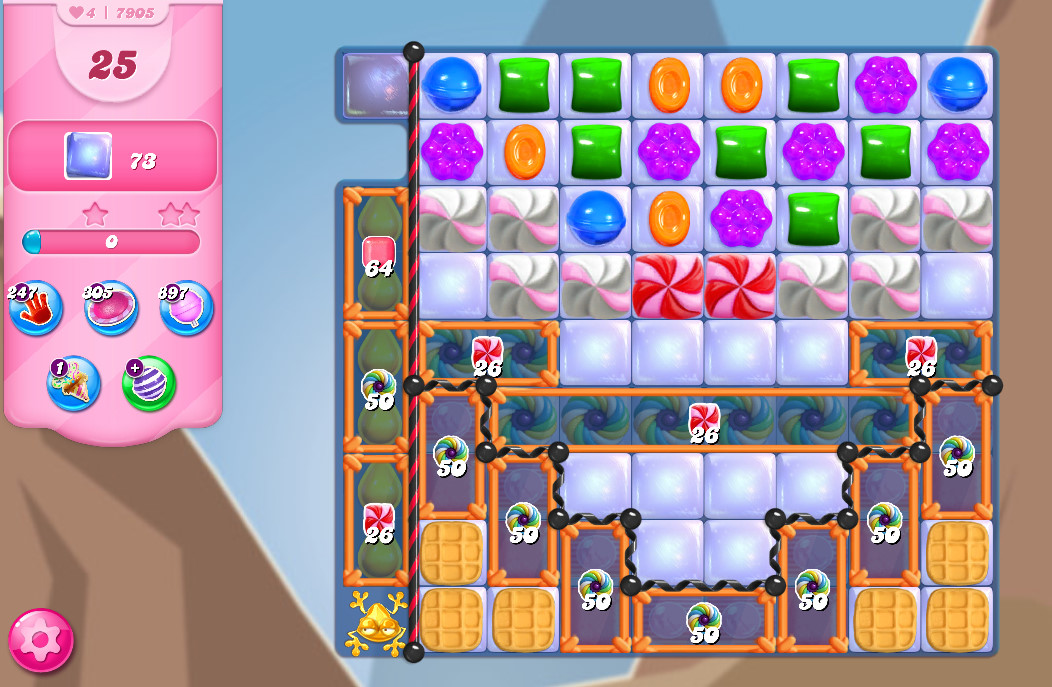 Candy Crush Saga level 7905