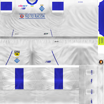 PES 6 Kits Dynamo Kyiv National Team Season 2018/2019 by WindowOp