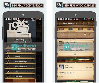BBM MOD Real Wood V2.13.0.26 Apk