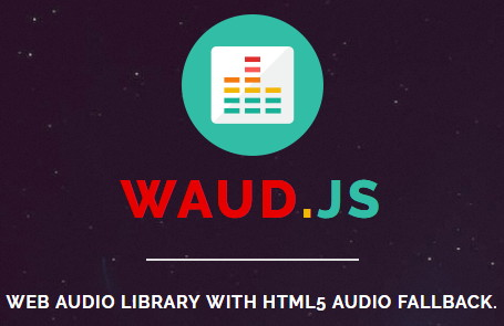 Waud.js, Web Audio Library With HTML5