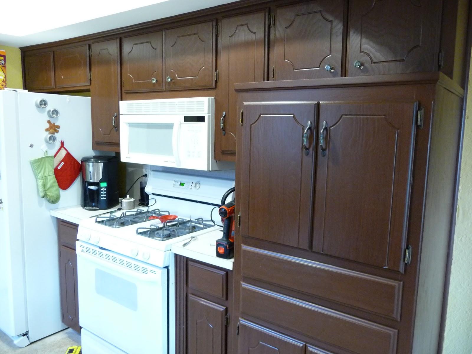 Rustoleum Cabinet Transformations Kona With Glaze Homedesignview Co