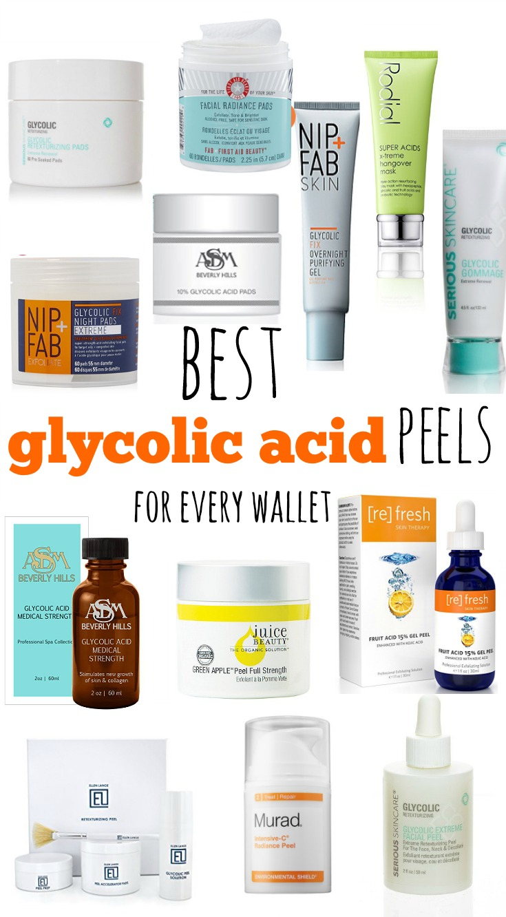 Best Glycolic Acid Peels Pads Masks And More