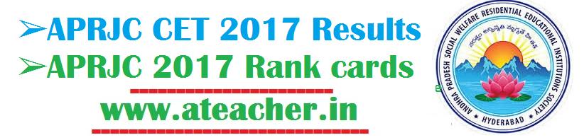 APRJC 2017 RESULTS