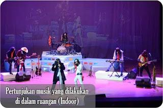Pertunjukan Musik Indoor