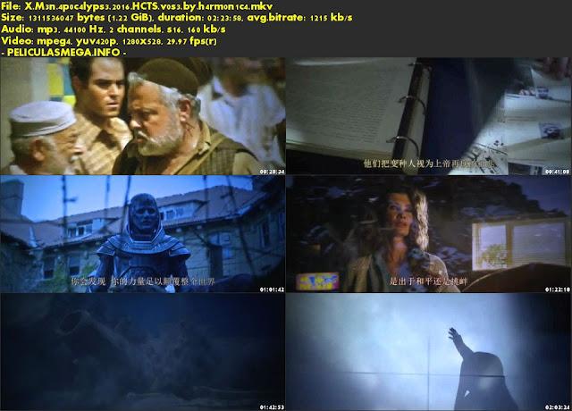 Descargar X-Men: Apocalypse Subtitulado por MEGA.