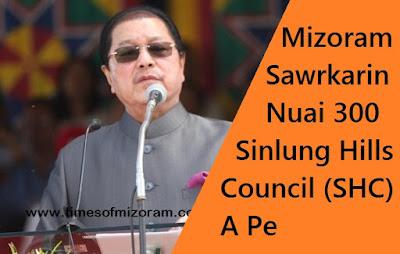 Sinlung Hills Council budget 2018-19