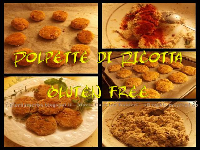 POLPETTE di RICOTTA alle ERBETTE - gluten free!