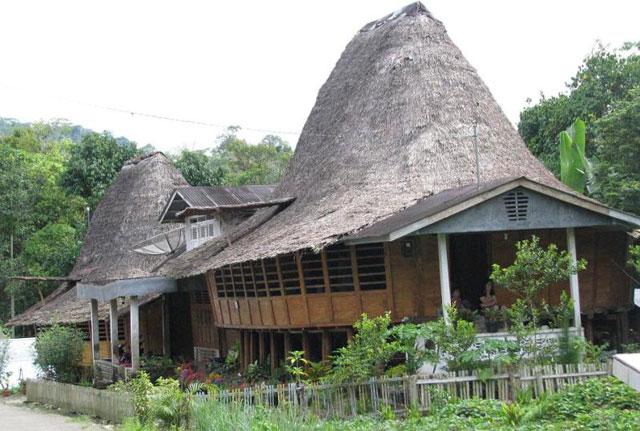 Pemukiman Rumah Adat Tradisional