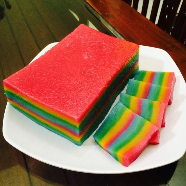 resep kue lapis beras pelangi