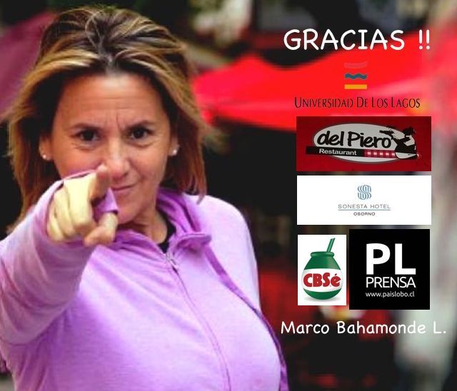 Agradecimientos por la visita de Bárbara Pichot a Osorno