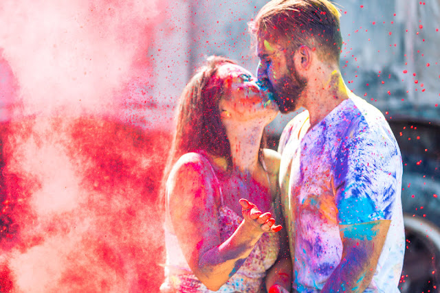 Happy Holi Romantic hd Wallpapers