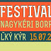 Festival vína Veľký Kýr (15.7.2017)