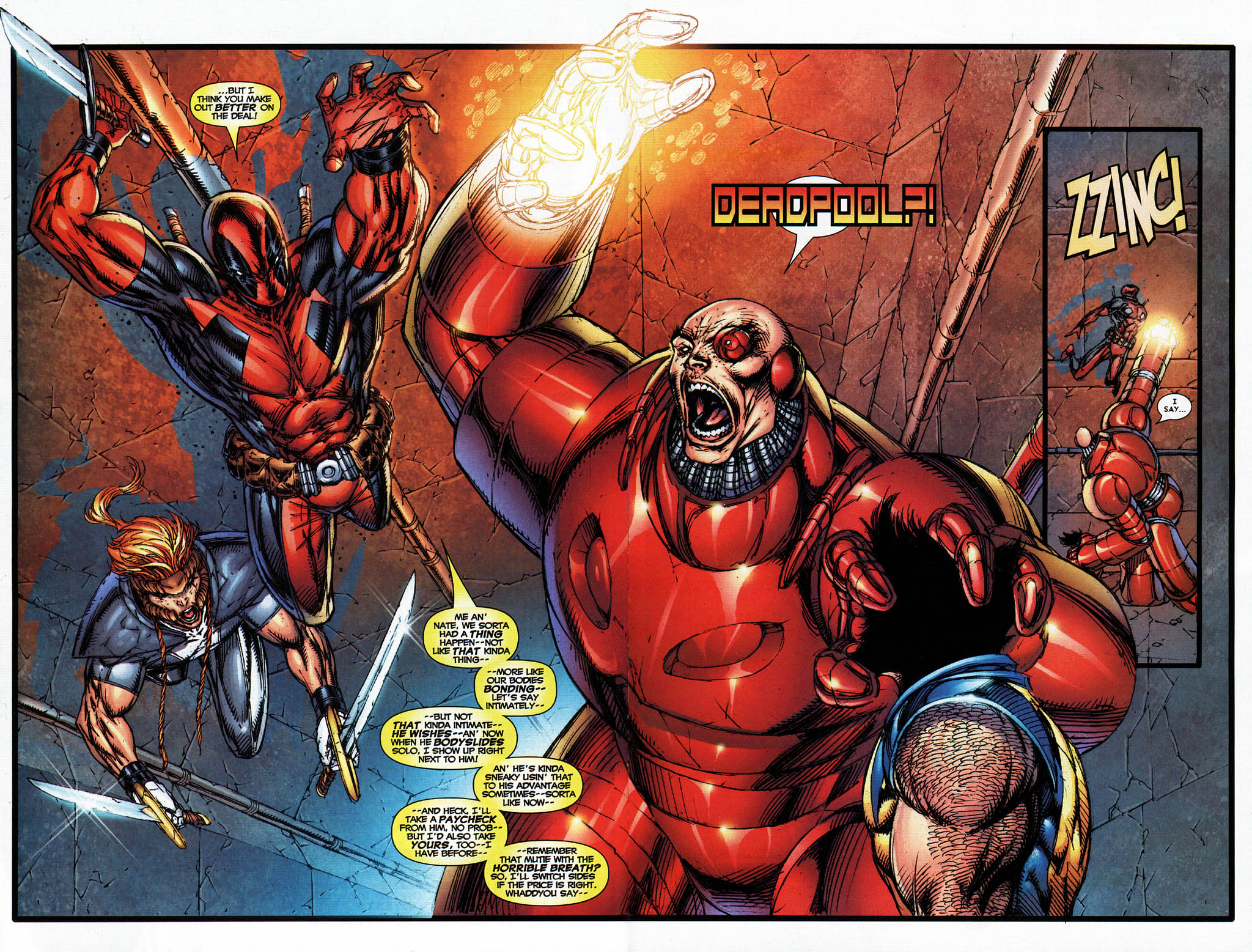 Read online X-Force (2004) comic -  Issue #4 - 28