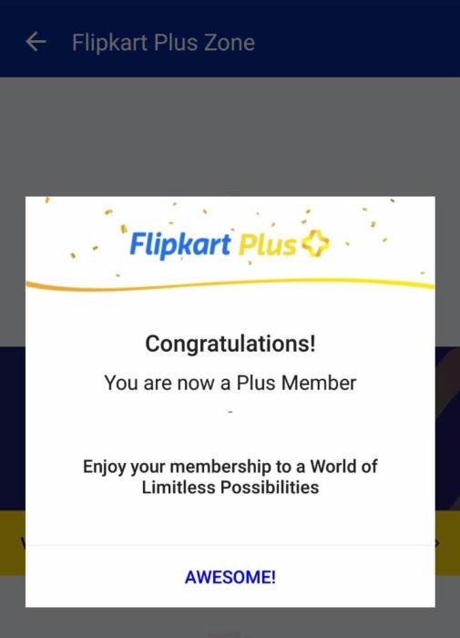 How To Get 1 Year FREE Flipkart Plus Membership