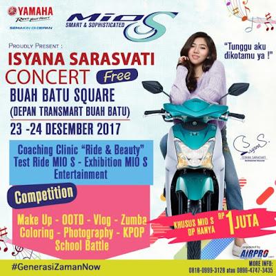 Mio S Roadshow Concert - Isyana Sarasvati di Bandung