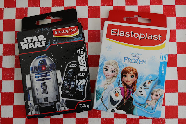 Elastoplast Star Wars and Frozen children's' plasters