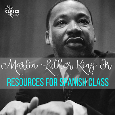 Martin Luther King Jr. & Black History Month in Spanish class