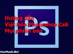 Hướng Dẫn Việt Hóa Photoshop CS6