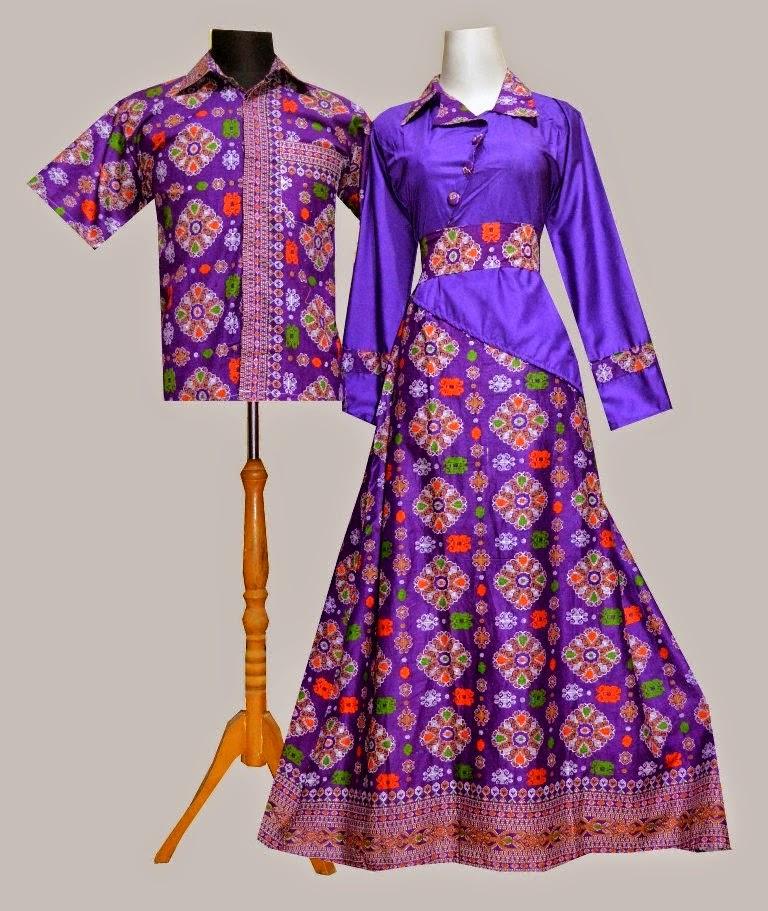 Model Baju Batik Kombinasi Lurik