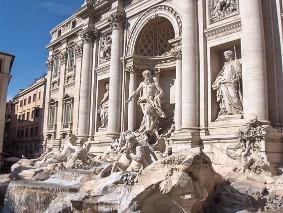 Fontana de Trevi. 20 cosas que saber de Roma.