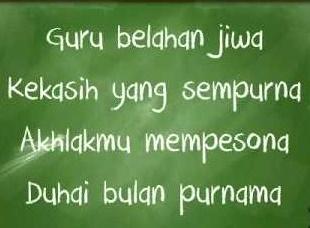 Puisi mengenai Guru