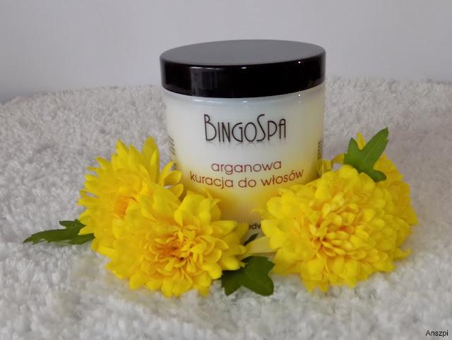 Arganowa kuracja do włosów z lnem i jedwabiem, BingoSpa