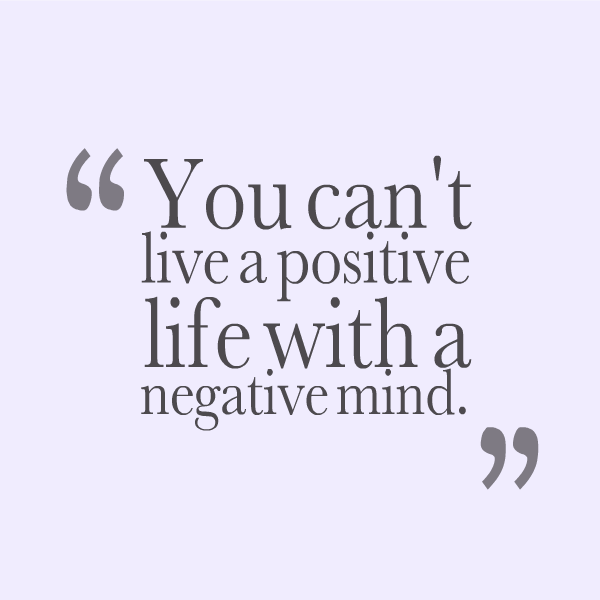 Think Positive Be Optimistic Quotes: Be Positive Quotes – Week 9