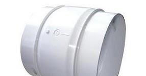 免動力雙葉片式 逆止風門 5½吋(6吋) - 廚房油煙機或大型暖風機   宏騏 水電 材料 五金 維修