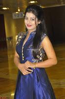 Tarunika Sing in Blue Ethnic Anarkali Dress 20.JPG