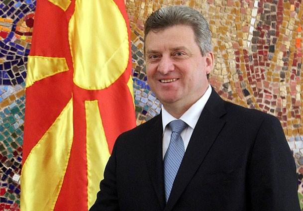 Makedoniens Staatschef Ivanov besucht Grenze zu Griechenland