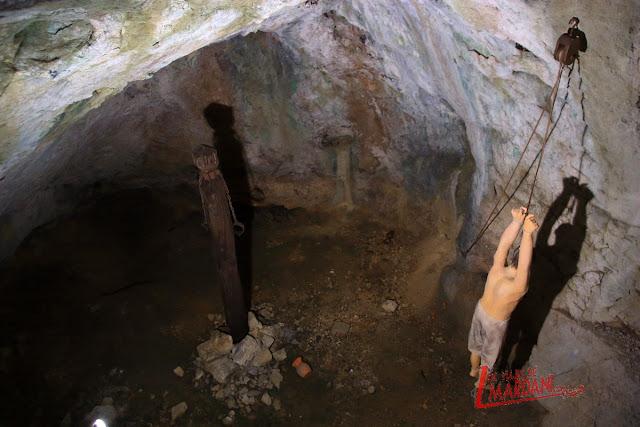 Sala de tortura del castillo de Predjama