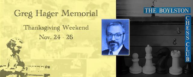Greg Hager Memorial