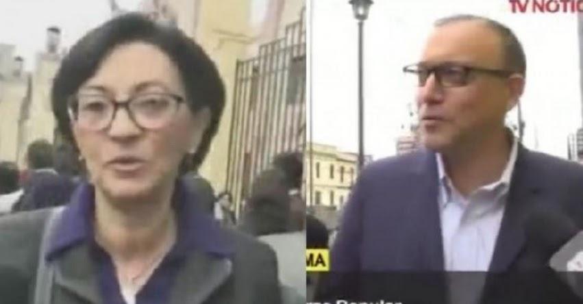 Detienen a Pier Figari y Ana Hertz de Vega, sindicados como asesores de la organización criminal que lidera Keiko Fujimori