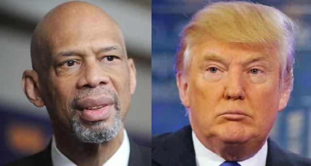 El zasca de Kareem Abdul-Jabbar a Donald Trump