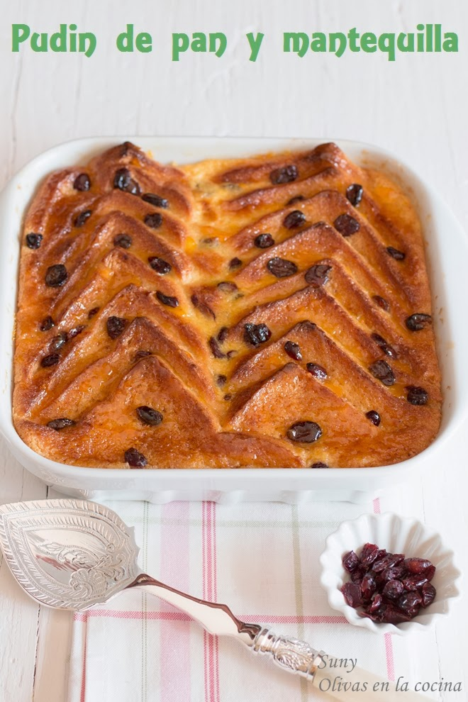 Pudin de pan y mantequilla