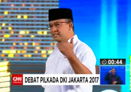 Video Debat CAGUB Gegerkan Sosial Media Twitter