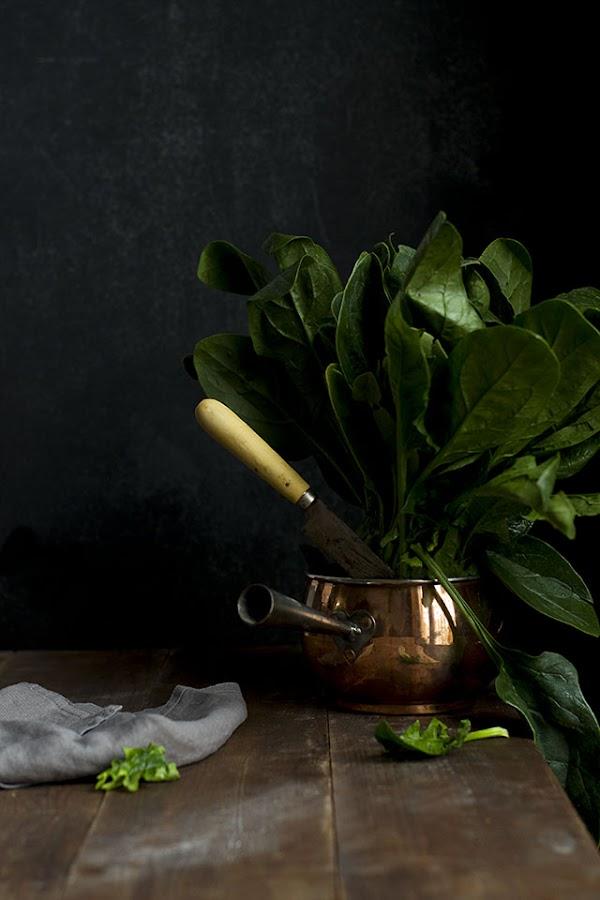 espinacas spinach