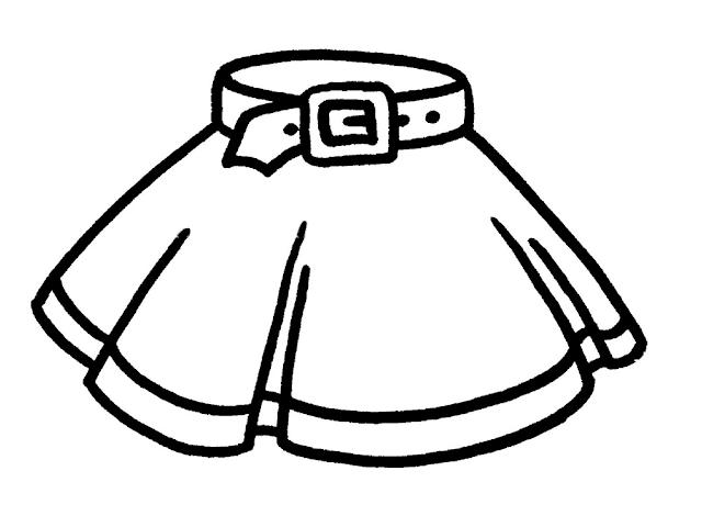 Mewarnai Gambar Pakaian Anak