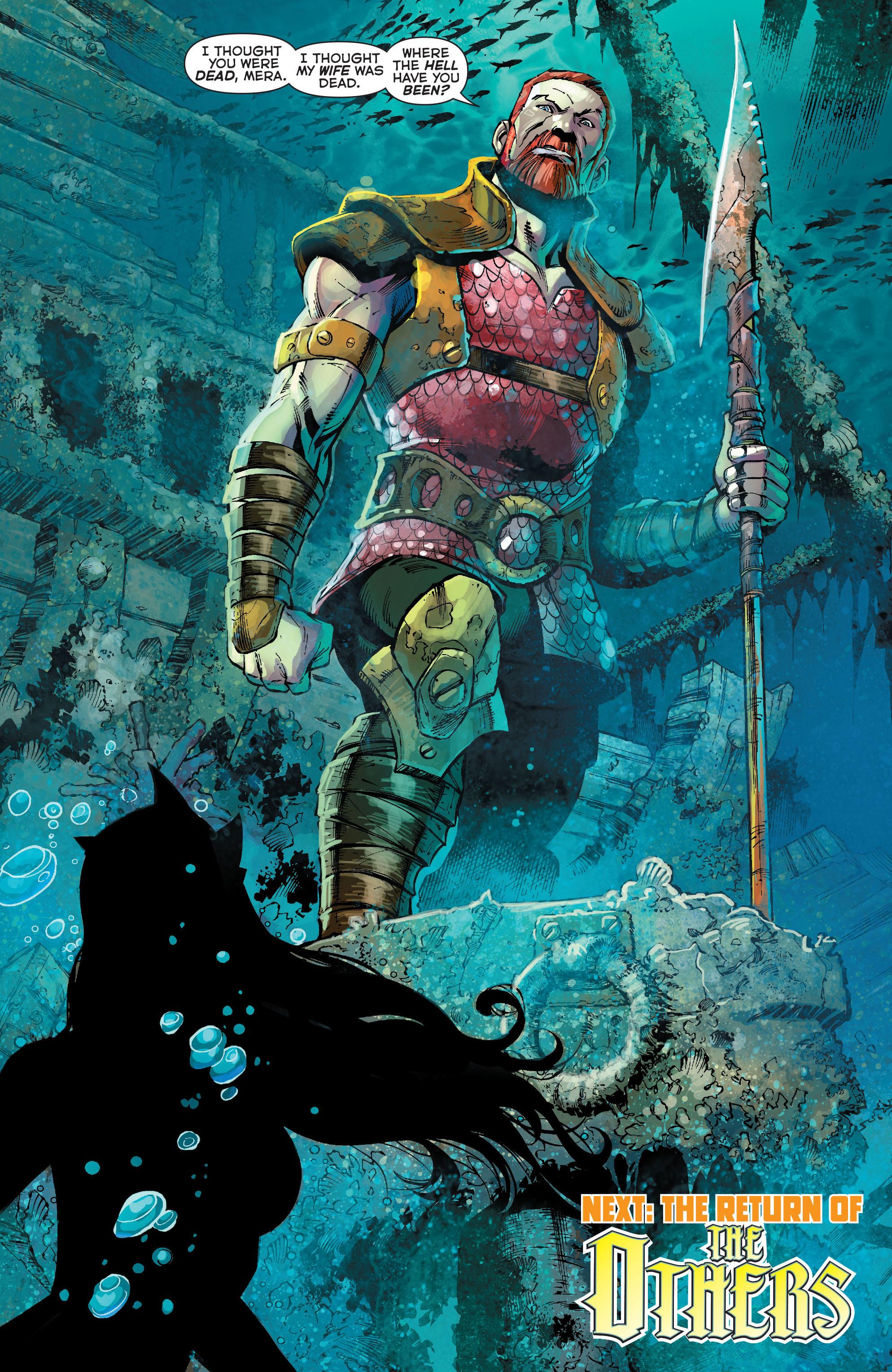 Read online Aquaman (2011) comic -  Issue #19 - 21