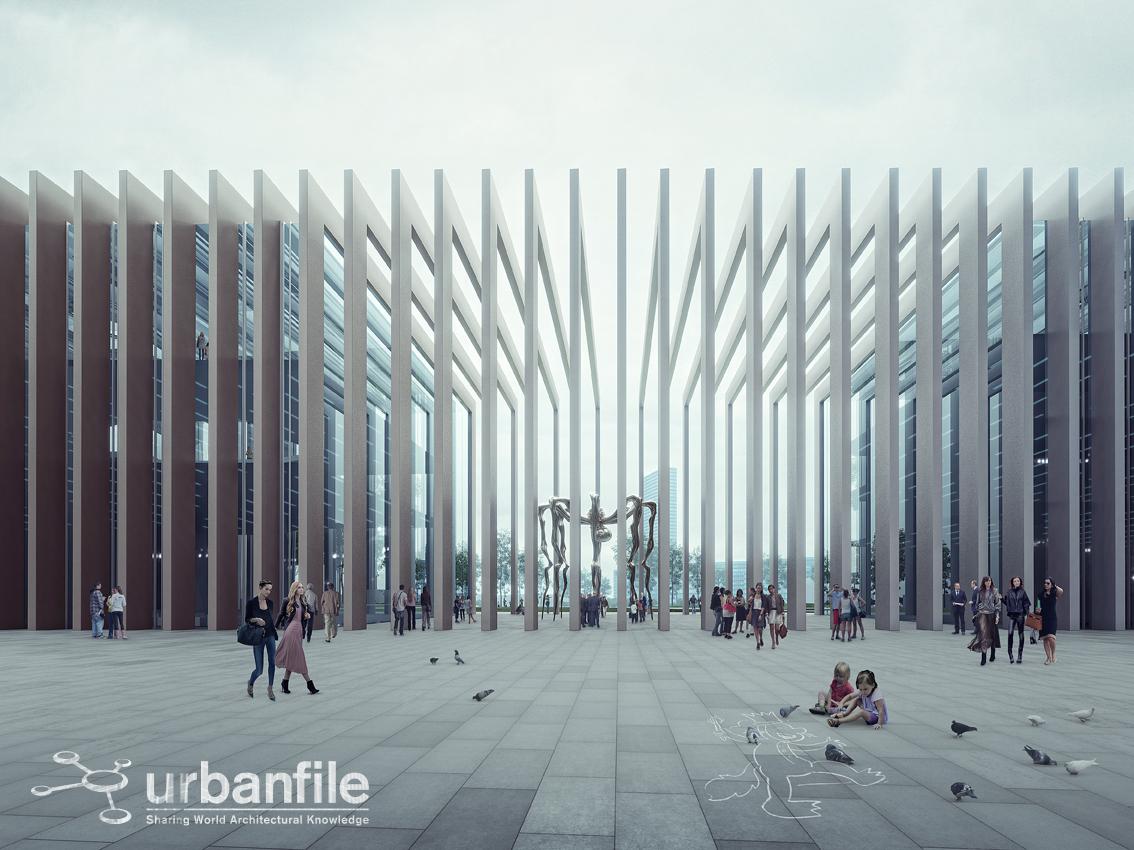 Scintilla Centro Estetico Segrate urbanfile - milano: i rendering dell'edificio e3east di