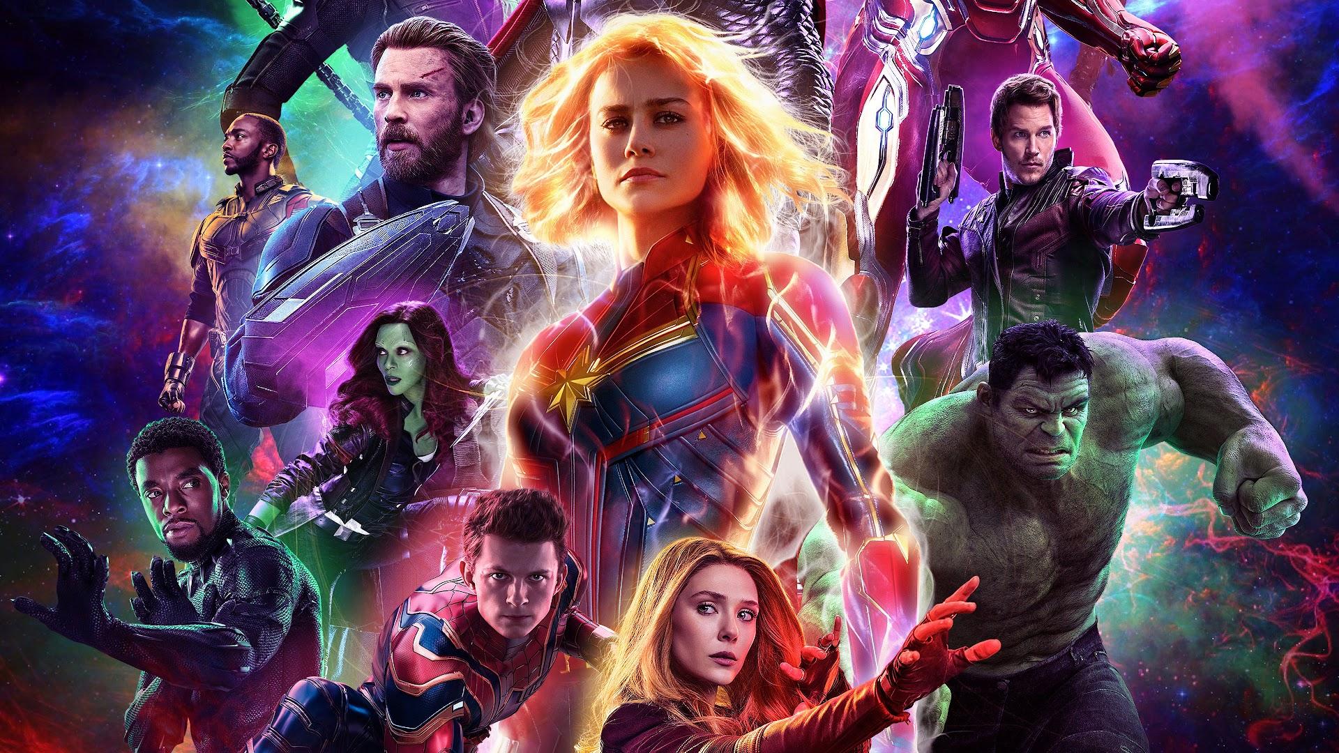 Avengers Endgame Characters 4k Wallpaper 48