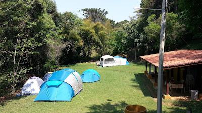 área de camping natural