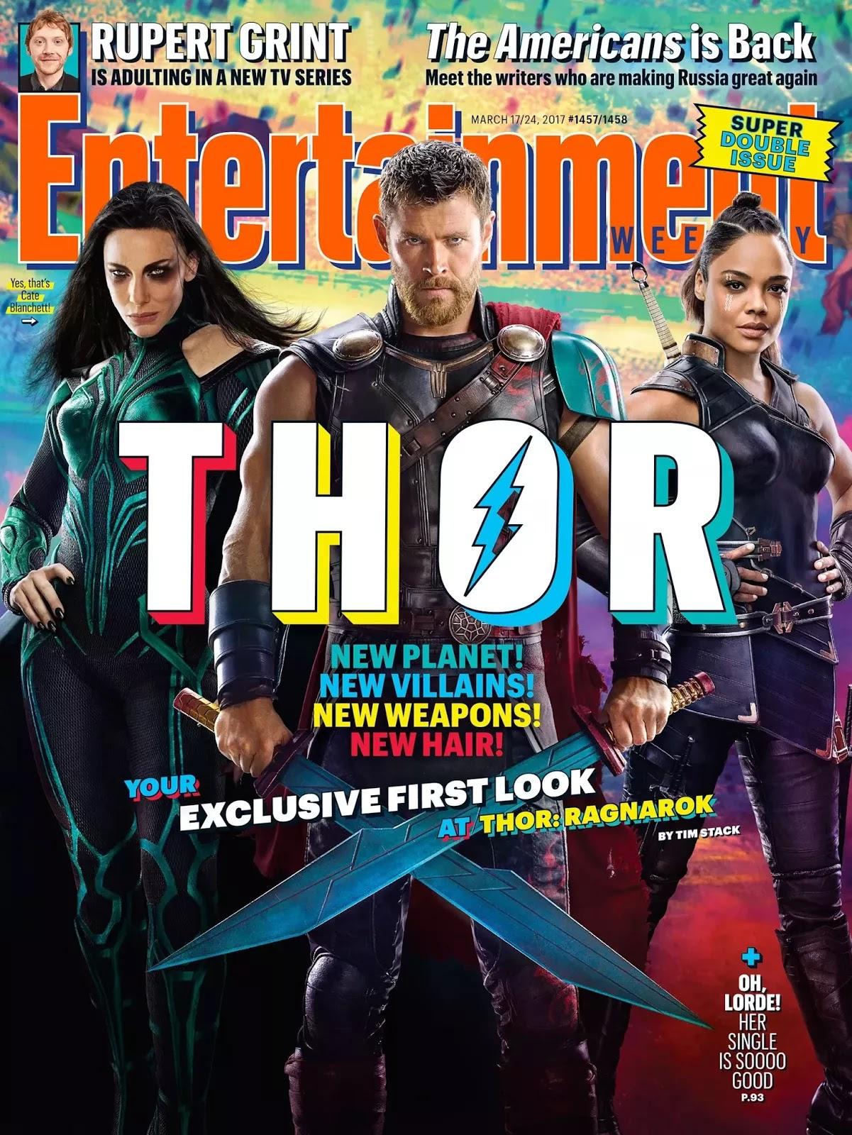 Chris Hemsworth Gets New Look In Thor: Ragnarok.
