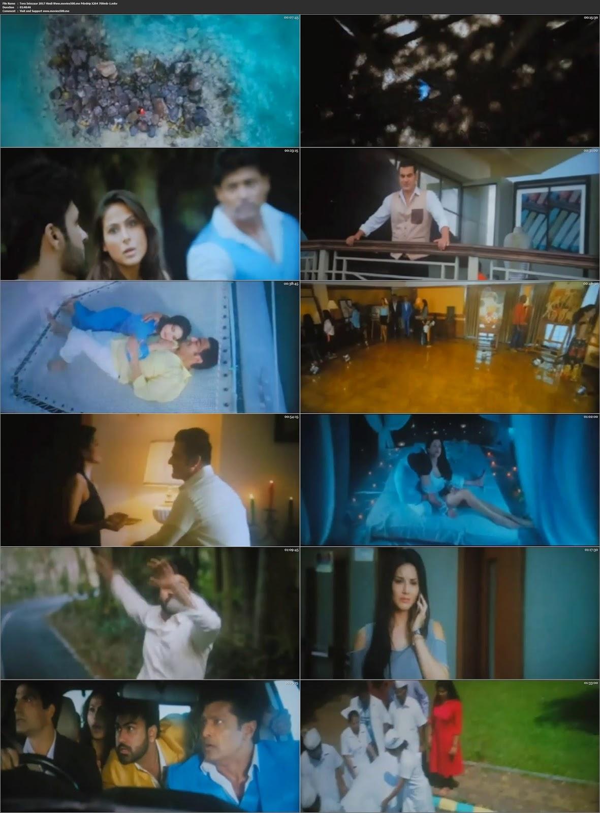 Tera Intezaar 2017 Bollywood 300MB Hindi PDVDRip 480p at newbtcbank.com