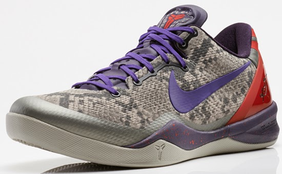 new product 16fb6 1483f ... where to buy this nike kobe 8 system comes in a mine grey black court  purple