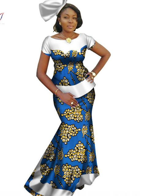 Check Out Our Collection of Beautiful Skirt and Blouse for African Women Pix