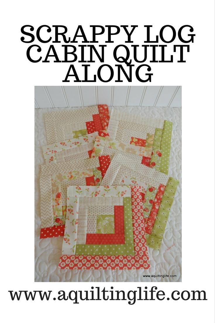 http://www.aquiltinglife.com/2017/10/log-cabin-quilt-along.html